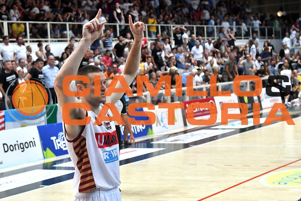 Michael Bramos<br /> Dolomiti Energia Trento - Umana Reyer Venezia<br /> Lega Basket Serie A 2016-2017<br /> Playoff FINALE Gara 6<br /> Avellino 20/06/2017<br /> Foto Ciamillo-Castoria