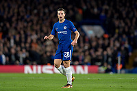LONDON,ENGLAND - DECEMBER 05:Chelsea (28) César Azpilicueta during the UEFA Champions League group C match between Chelsea FC and Atletico Madrid at Stamford Bridge on December 5, 2017 in London, United Kingdom.  <br /> ( Photo by Sebastian Frej / MB Media )