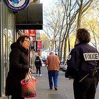 Lyon. Police check certificates - Covid 19