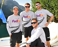 Phil Robertson and his WAKA Racing Team of Garth Ellingham, Sam Bell, and Adam Martin on Bow.Photo: Chris Davies/WMRT