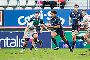 Yobo (sfp) during the French Championship Top 14 Rugby Union match between Stade Francais Paris and Pau on January 28, 2018 at Jean Bouin stadium in Paris, France - Photo Pierre Charlier / ProSportsImages / DPPI