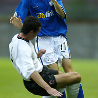 Clyde v St Johnstone....12.08.03..Bell's Cup 2nd round<br />