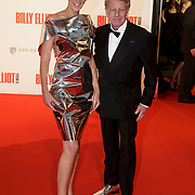 NLD/Scheveningen/20141130- Premiere Billy Elliot, Monique des Bouvrie en partner Jan
