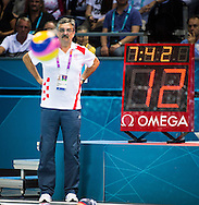 RUDIC Ratko Croatia.Croatia Vs. USA  Water polo Men.quarter Finals.London 2012 Olympics - Olimpiadi Londra 2012.day 13 Aug.8.Photo G.Scala/Deepbluemedia.eu/Insidefoto