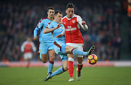 London : Premier League Football : Arsenal v Burnley. 22 January 2017