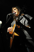 Joanna Levine performs at Sullivan Hall in New York City on December 7, 2008.