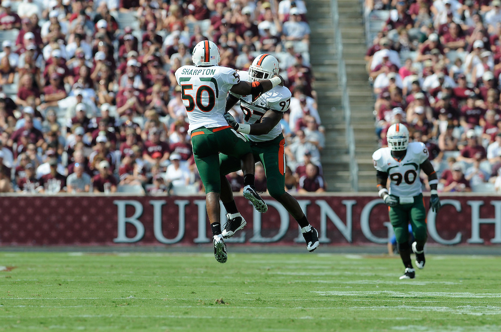 Miami @ Texas A&M, September 20, 2008.