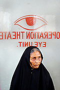 Friendship - Lifebouy Hospital  [on Char] Keishnomoie..On Board hospital - with Dr Sharfin in Eye Clinic & patients waiting