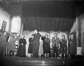 "1959 - Listowel Drama Group performs ""Sive"" at the Abbey Theatre"