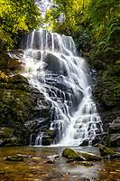 Eastatoe Falls in Rosman, NC
