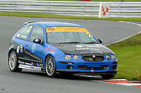 #2 Chris Bray MG ZR 190 during the The John Woods Motorcars MG Trophy Championship at Oulton Park, Little Budworth, Cheshire, United Kingdom. September 03 2016. World Copyright Peter Taylor/PSP.