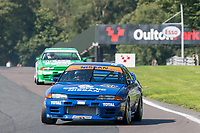 #123 Jake HILL Nissan R32 during HSCC Dunlop Saloon Car Cup  as part of the HSCC Oulton Park Gold Cup  at Oulton Park, Little Budworth, Cheshire, United Kingdom. August 25 2019. World Copyright Peter Taylor/PSP. Copy of publication required for printed pictures.