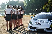 October 3-5, 2013. Lamborghini Super Trofeo - Virginia International Raceway. Lamborghini grid girls.