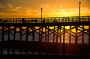 Sunset at Seal Beach Pier