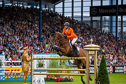Houtzager Marc, NED, Sterrehofs Calimero<br /> CHIO Aachen 2019<br /> Weltfest des Pferdesports<br /> © Hippo Foto - Stefan Lafrentz<br /> Houtzager Marc, NED, Sterrehofs Calimero