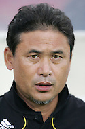 21 August 2008: Japan head coach Norio Sasaki (JPN). Germany's Women's National Team defeated Japan's Women's National Team 2-0 at the Worker's Stadium in Beijing, China in the Bronze Medal match in the Women's Olympic Football tournament.