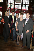 jessica Fellowes, Simon Simon Jacot de Boinod  Tom Aikens, Amber Nuttall and Jonathan Zammett. PJ's Annual Polo Party . Annual Pre-Polo party that celebrates the start of the 2007 Polo season.  PJ's Bar & Grill, 52 Fulham Road, London, SW3. 14 May 2007. <br />