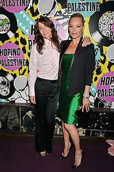 Left to right, BELLA FREUD and KATE MOSS  at Hoping's Greatest Hits - the 10th Anniversary of The Hoping Foundation's charity benefit held at Ronnie Scott's, 47 Frith Street, Soho, London on 16th June 2016.