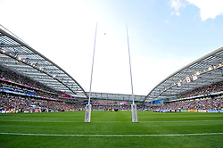 A general view of the Brighton Community Stadium prior to the match - Mandatory byline: Patrick Khachfe/JMP - 07966 386802 - 19/09/2015 - RUGBY UNION - Brighton Community Stadium - Brighton, England - South Africa v Japan - Rugby World Cup 2015 Pool B.