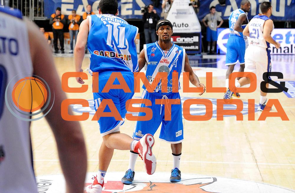 DESCRIZIONE : Cantu' Campionato Lega A 2013-14 Acqua Vitasnella Cantu' Banco di Sardegna Sassari <br /> GIOCATORE : Drew Gordon Marques Green <br /> SQUADRA : Banco di Sardegna Sassari<br /> EVENTO : Campionato Lega A 2013-14<br /> GARA :  Acqua Vitasnella Cantu' Banco di Sardegna Sassari<br /> DATA : 26/01/2014<br /> CATEGORIA :  Esultanza<br /> SPORT : Pallacanestro<br /> AUTORE : Agenzia Ciamillo-Castoria/A.Giberti<br /> Galleria : Campionato Lega Basket A 2013-14<br /> Fotonotizia : Acqua Vitasnella Cantu' Banco di Sardegna Sassari<br /> Predefinita :