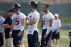 Peter Lalich (7).Scott Deke (15).Marc Verica (6)..The 2007 Virginia Cavaliers football team opened fall practice on August 6, 2007 at the University of Virginia football practice fields near the McCue Center in Charlottesville, VA.