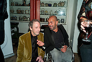 HARRY SHEARER; ASH ATALLAH, Gala performance of  RUBY WAX- LOSING IT  in aid of  Comic Relief. Menier Theatre. London. 23 February 2011. -DO NOT ARCHIVE-© Copyright Photograph by Dafydd Jones. 248 Clapham Rd. London SW9 0PZ. Tel 0207 820 0771. www.dafjones.com.