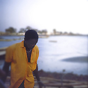 On the Gambia River - African Portraits Series
