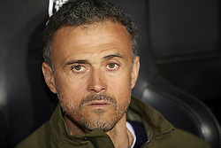 March 23, 2019 - Valencia, Valencia, Spain - Luis Enrique of Spain during the 2020 UEFA European Championships group F qualifying match between Spain and Norway at Estadi de Mestalla on March 23, 2019 in Valencia, Spain. (Credit Image: © Jose Breton/NurPhoto via ZUMA Press)