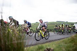 Abby-Mae Parkinson (GBR) of Drops Cycling Team climbs on Stage 5 of 2019 OVO Women's Tour, a 140 km road race from Llandrindod Wells to Builth Wells, United Kingdom on June 14, 2019. Photo by Balint Hamvas/velofocus.com