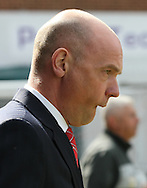 Picture by David Horn/Focus Images Ltd +44 7545 970036.27/04/2013.Uwe Rosler , Manager of Brentford before the npower League 1 match at Griffin Park, London.