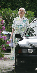 File photo of the daughter of Heinrich Himmler, Gudrun Burwitz outside her home in a suburb south of Munich,  Germany. June 2011 Photo by: Roger Allen / i-Images
