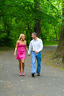 NEWTOWN, PA - JUNE 1: Kristin and Michael are photographed June 1, 2012 in Newtown, Pennsylvania. (Photo by William Thomas Cain/Cain Images)