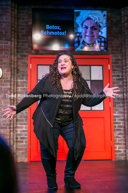 2/18/16 8:35:35 PM -- The Second City Presents<br /> #DateMe an OK Cupid Experiment<br /> <br /> &copy; Todd Rosenberg Photography 2016