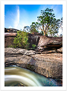 Early on a summer morning at Goonoowigall Falls, Goonoowigall State Conservation Area [Inverell, NSW]<br /> <br /> Image ID: 400872. Order by email to orders@girtbyseaphotography.com quoting the image ID, preferred print size &amp; media. Current standard size prices are published on the Pricing page. Custom sizes also available.