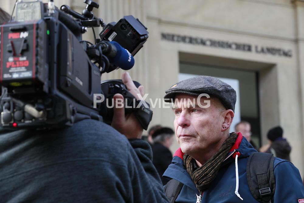 Portrait Wolfgang Ehmke, Sprecher der B&uuml;rgerinitiative L&uuml;chow-Dannenberg e.V.<br /> <br /> Ort: Hannover<br /> Copyright: Andreas Conradt<br /> Quelle: PubliXviewinG