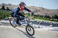 Men Elite #24 (SHARRAH Corben) USA the 2018 UCI BMX World Championships in Baku, Azerbaijan.