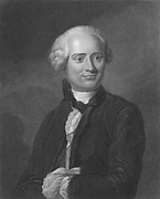 Jean le Rond D'Alembert (1717-1783) French philosopher, mathematician and encyclopedist. [18th century]. Collaborated with Denis Diderot (1713-1784) on the 'Encyclopedie' of which he was scientific editor until 1758 and for which he wrote the 'Discours Preliminaire' declaring the philosophy of the French Enlightenment. From 'The Gallery of Portraits', (London, 1834). Engraving.