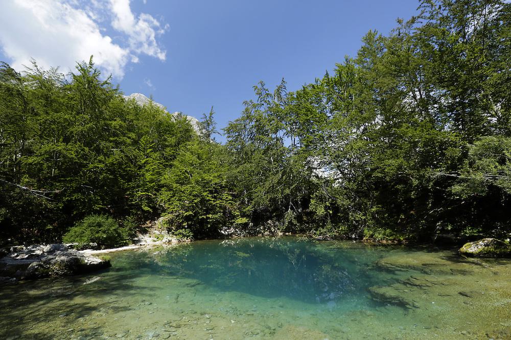 Oko Skakavice (Skakavica Eye), Prokletije National Park, Montenegro.