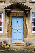 Exterior of a Cotswolds house called Glenthorne House, Burford, United Kingdom