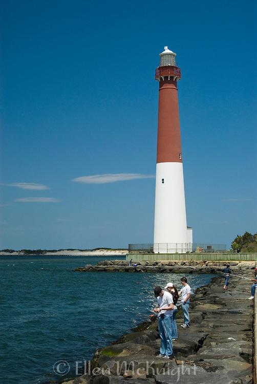 Barnegat Bay Lighthouse in Long Beach Island NJ