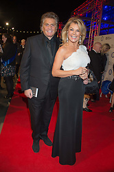 JILLY JOHNSON and ASHLEY BRODIN at the Battersea Dogs & Cats Home's Collars & Coats Gala Ball held at Battersea Evolution, Battersea Park, London on 12th November 2015.