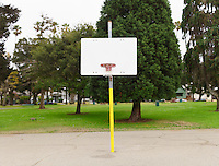 Basketball Hoop in Park. (26612 x 20229 pixels)