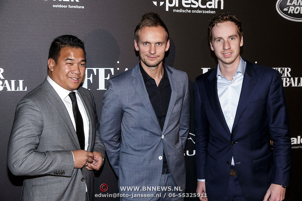 NLD/Amsterdam/20141115 - Life After Football fair 2014, Luuk de Jong