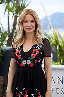 Kelly Preston at the Rendevous with John Travolta  photo call at the 71st Cannes Film Festival, Tuesday 15th May 2018, Cannes, France. Photo credit: Doreen Kennedy