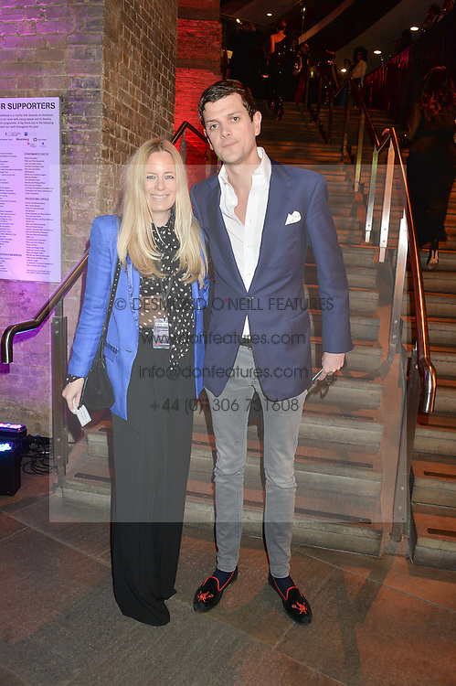 ASTRID HARBORD and ALEXANDER SPENCER-CHURCHILL at a Night of Disco in aid of Save The Children held at The Roundhouse, Chalk Farm Road, London on 5th March 2015.