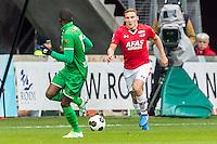 ALKMAAR - 26-02-2017, AZ - PEC Zwolle, AFAS Stadion, 1-1, AZ speler Jonas Svensson