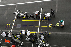 October 27, 2018 - Mexico-City, Mexico - Motorsports: FIA Formula One World Championship 2018, Grand Prix of Mexico, .Mechanicians of Mercedes AMG Petronas Motorsport  (Credit Image: © Hoch Zwei via ZUMA Wire)