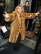 Sept. 4, 2014 - Joan Rivers, the queen of comedy, has died in New York. She was 81. Rivers was undergoing surgery on her vocal cords at a clinic in New York City on Aug. 28 when she stopped breathing and had to be transported to Mount Sinai Hospital. Rivers entered show biz as a stand-up comic. She first gained fame with her appearances on ''The Tonight Show'' with Johnny Carson. Rivers recently transformed herself into a comedian fashion critic  of the red carpet with the popular E! Network show, 'Fashion Police.' <br /> <br /> PICTURED:  Feb 23, 2005 - New York, New York, U.S. - JOAN RIVERS promotes 'Can You Tell?' Suave lower priced shampoo at the 'Can You Tell' studio.<br /> ©Exclusivepix