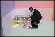 FLORA WATERSTONE; GARY WATERSTONE, Opening of Frieze art Fair. London. 14 October 2014