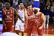Bertone Pablo Ceron Marco<br /> Grissin Bon Pallacanestro Reggio Emilia - VL Pesaro<br /> Lega Basket Serie A 2017/2018<br /> Reggio Emilia, 08/10/2017<br /> Foto A.Giberti / Ciamillo - Castoria